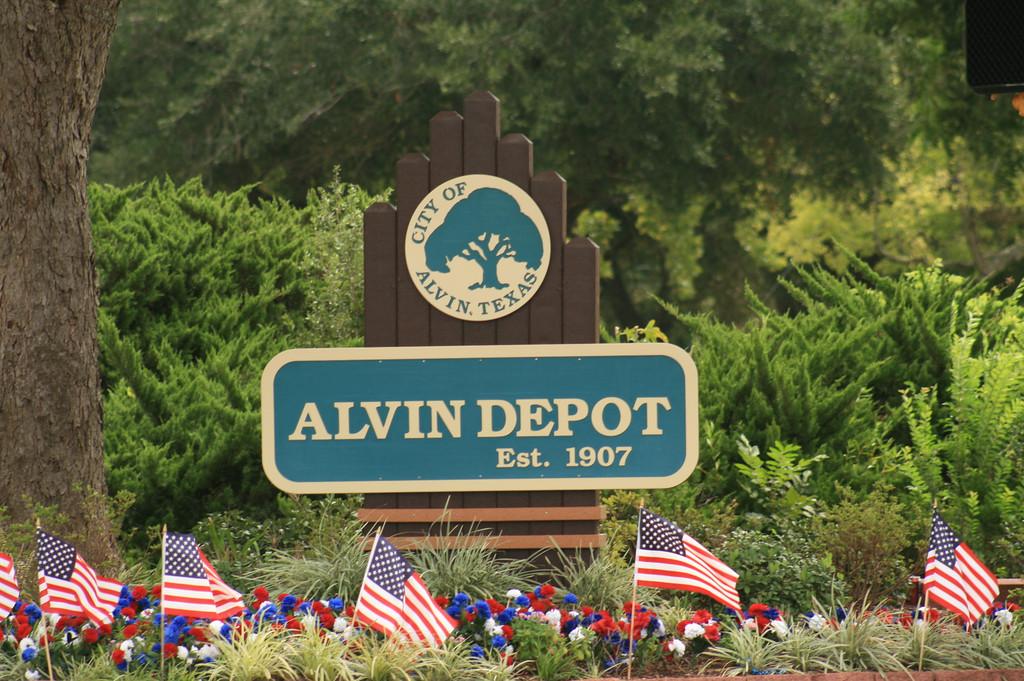 Alvin sign